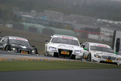 Tom Kristensen, Audi Sport Team Abt, Audi A4 DTM and Jamie Green, Team HWA AMG Mercedes, AMG Mercedes C-Klasse