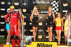 Podium: Garth Tander takes second