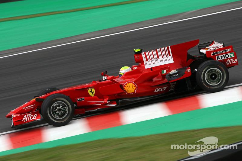 2008: Felipe Massa (Ferrari F2008)
