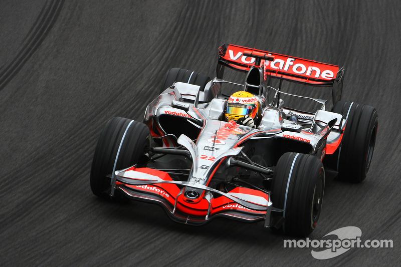 #63: McLaren MP4-23 (2008)