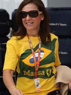 Ana Helena, Mother of Felipe Massa, Scuderia Ferrari