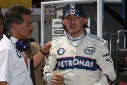 Dr. Mario Theissen, BMW Sauber F1 Team, BMW Motorsport Director and Robert Kubica,  BMW Sauber F1 Team