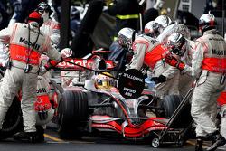 Pitstop, Lewis Hamilton, McLaren Mercedes