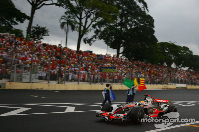 1 место. Гран При Бразилии-2008, «Интерлагос»