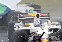 David Coulthard, Red Bull Racing choca