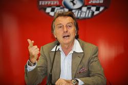 Press conference: Luca di Montezemolo