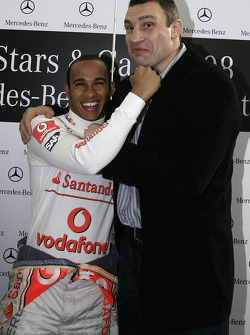 Two Dünya Şampiyonus: Lewis Hamilton (Formula 1) ve Vitali Klitschko (boxing)