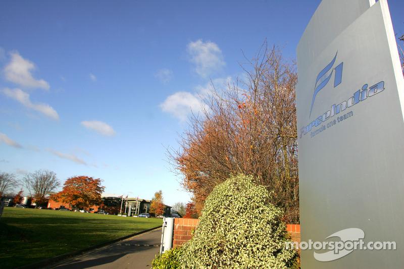Sede de Force India F1, Silverstone, England