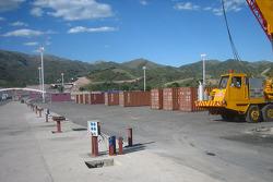 Lago Potrero de los Funes track preparation