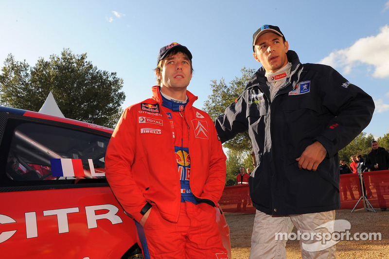 Sébastien Loeb et Stéphane Sarrazin