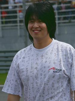 Jin-Woo Hwang, driver of A1 team Korea