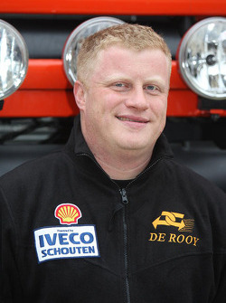 Team de Rooy: Tom Colsoul, co-driver rally truck #505
