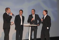 Dr Klaus Draeger ve Dr Mario Theissen ve Ian Robertson