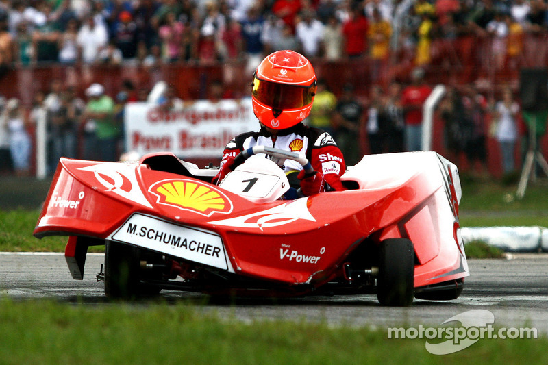 Michael Schumacher, Test Pilotu, Scuderia Ferrari