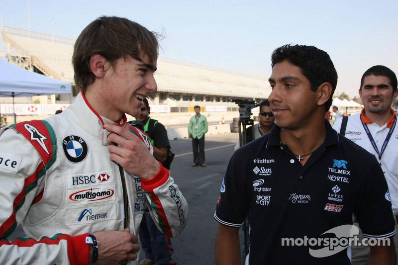 2008 Esteban Gutiérrez, Josef Kaufmann Racing y Salvador Duran, Escudería Telmex