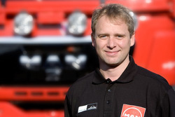 MAN Rally Team: Detlef Ruf, co-driver truck 2
