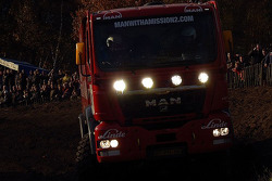 MAN Rally Team presentation: Hans Stacey, Charly Gotlib and Bernard der Kinderen