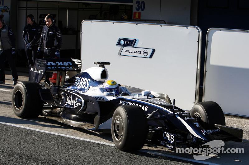 Nico Rosberg, WilliamsF1 Team, interim 2009 car