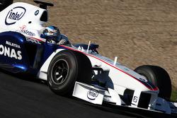 Nick Heidfeld, BMW Sauber F1 Team, interim 2009 car- Formula 1 Testing, Jerez