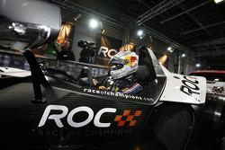 Sebastian Vettel in a KTM X-Bow
