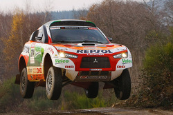 Repsol Mitsubishi Ralliart Team: Nani Roma and Lucas Cruz Senra