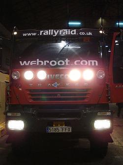 Rally Raid UK truck at scrutineering
