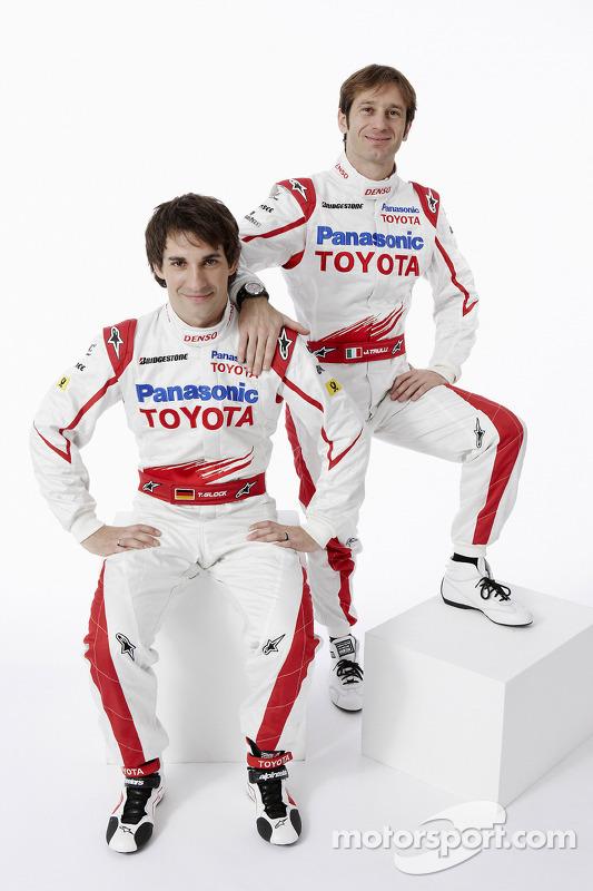 Timo Glock and Jarno Trulli