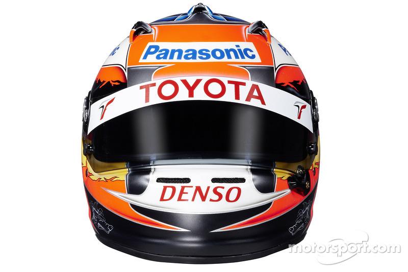 Helm von Timo Glock,Toyota
