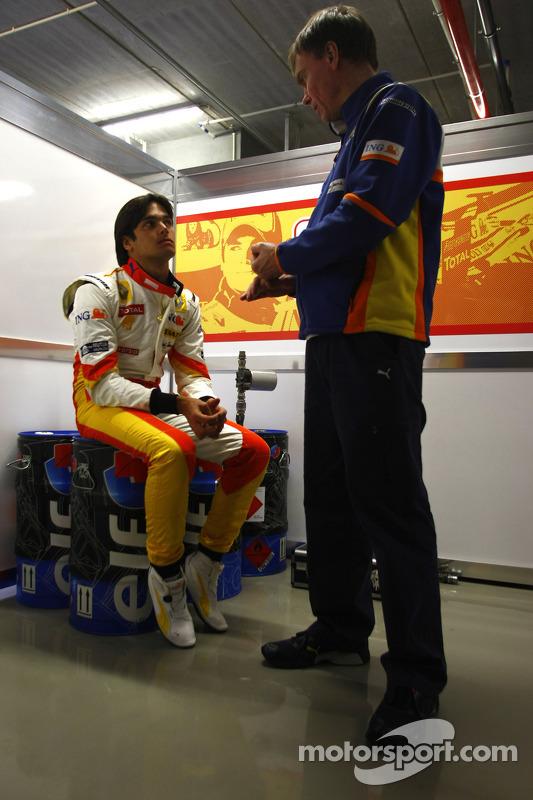 Nelson A. Piquet; Chefingenieur Alan Permane, Renault F1