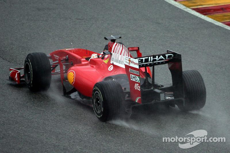 Kimi Raikkonen, Scuderia Ferrari in the new Ferrari F60
