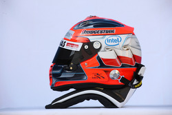 Helmet of Robert Kubica