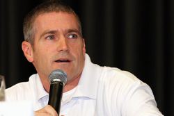 Former NASCAR Sprint Cup Series champion Bobby Labonte answers questions