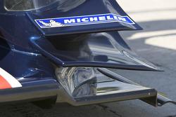 Detail of the #66 de Ferran Motorsports Acura ARX 02a Acura