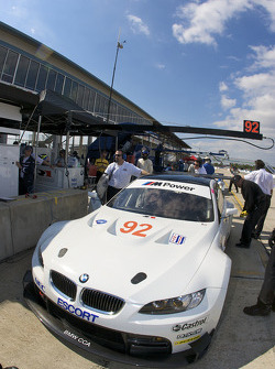 #92 BMW Rahal Letterman Racing Team BMW E-92 M3