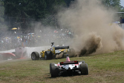 Trouble for Fairuz Fauzy, driver of A1 Team Malaysia