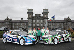 Stobart Motorsport team presentation: Matthew Wilson, Scott Martin, Urmo Aava and Kuldar Sikk