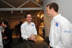 Franck Montagny and Alexander Wurz
