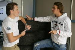 Yelmer Buurman and Giedo Van der Garde
