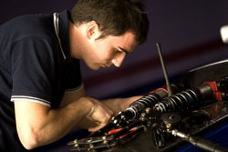 Piquet mechanic at work