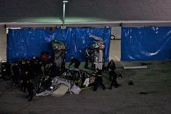 Ricky Carmichael endommagé au garage