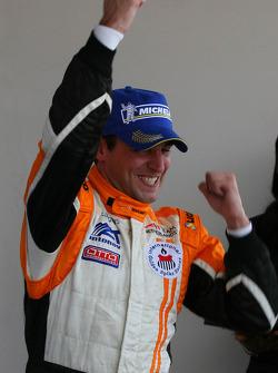 Podium: race winner Jeroen Bleekemolen