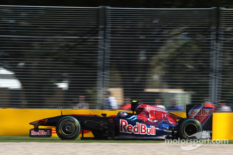 Sebastien Buemi, GP Australia 2009, Toro Rosso