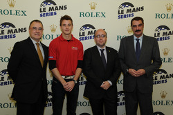 Press conference with Leo Mansell