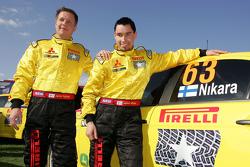 Jarkko Nikara and Jarkko Kalliolepo, Mitsubishi Evo X, Pirelli Star Driver