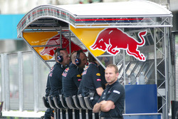 Red Bull pitwall
