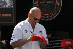 Bobby Rahal signs autographs