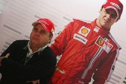 Luis Antonio Massa, Father of Felipe Massa, Scuderia Ferrari