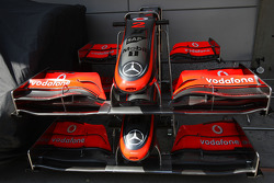 McLaren, nose, detail
