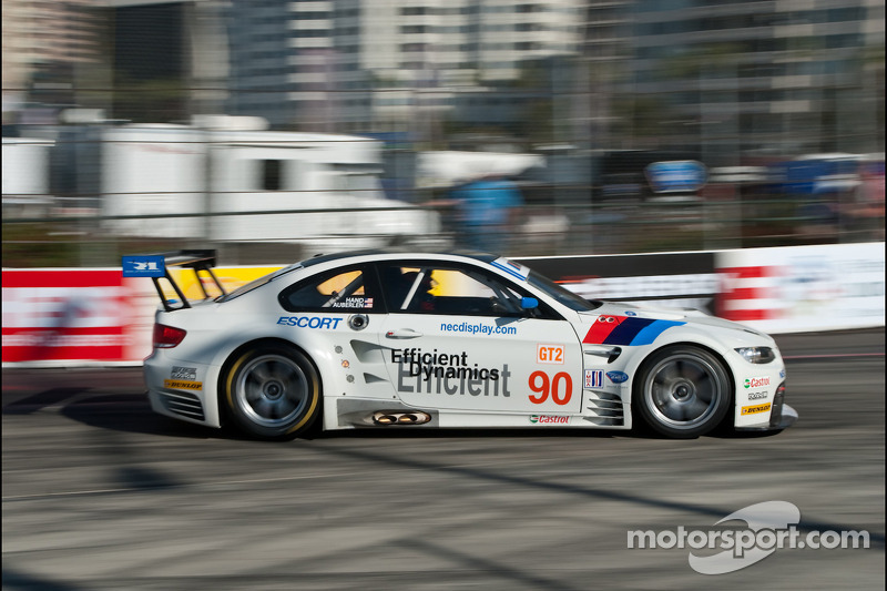 90 BMW Rahal Letterman Racing Team BMW E92 M3: Bill Auberlen, Joey ...
