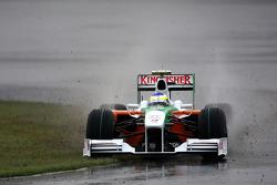 Giancarlo Fisichella, Force India F1 Team funciona fuera de la carretera